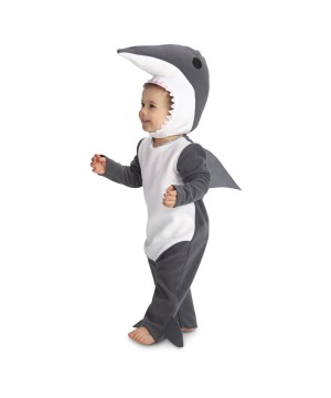 Baby Boys Great White Shark Costume  sc 1 st  Wonder Costumes : shark halloween costume adult  - Germanpascual.Com