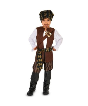 Baby Boys Pirate Costume