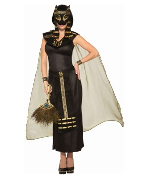 Bastet Women Costume and Mask Set