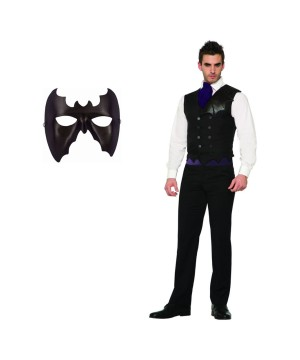 Bat Men Costume Set