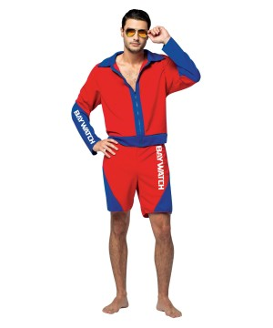 Baywatch Male Lifeguard Suit