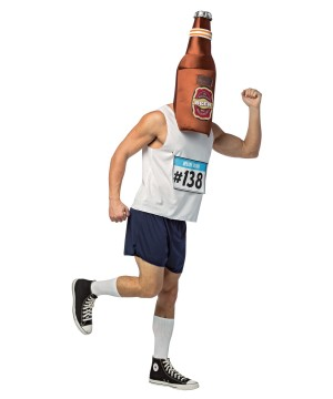 Beer Run Mens Costume
