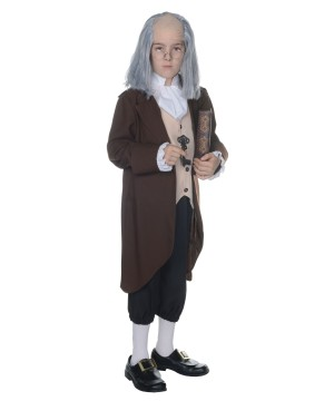 Benjamin Franklin Boys Costume