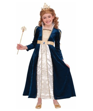 Royal Navy Princess Girls Costume