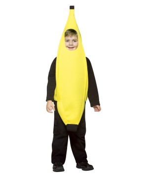 Boys Banana Costume