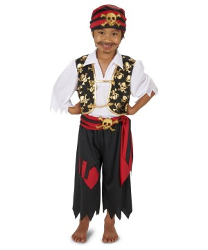 Boys Captain of the Sea Pirate Costume