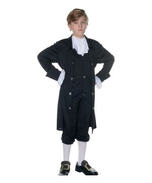 John Adams Boys Costume