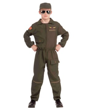 Boys Military Air Force Fighter Pilot Costume