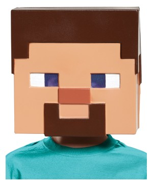 Boys Minecraft Steve Mask