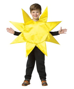 Boys Yellow Sun Costume