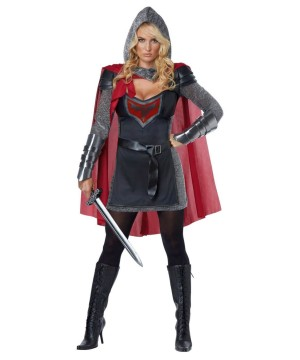 Brave Knight Womens Costume