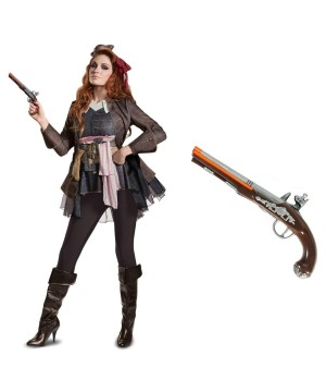 Captain Jack Sparrow Female Costume Kit