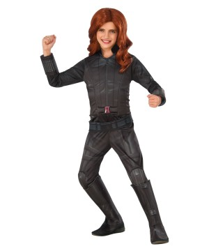 Kids Black Widow Costume