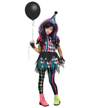 Circus Clown Girl Costume