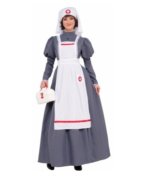 Civil War Nurse Women Costume