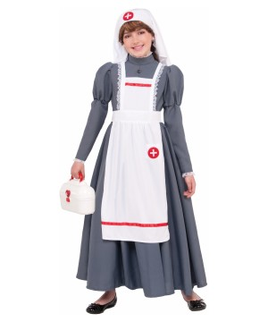 Civil War Nurse Girls Costume
