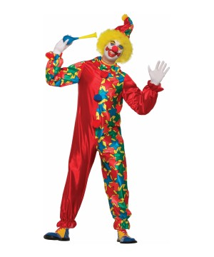 Classic Clown Men Costume