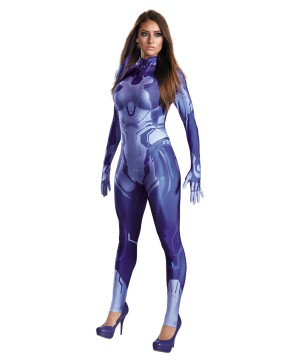 Halo Cortana Woman Costume