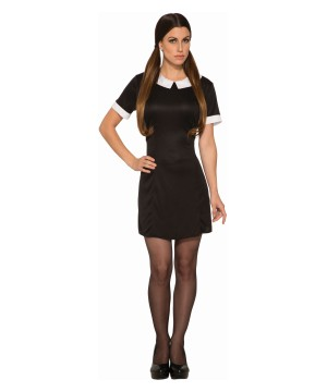 Dark Little Girl Women Costume