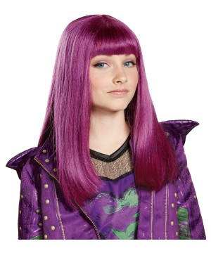 Descendants 2 Girls Mal Wig