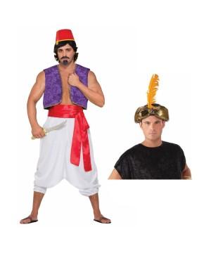 Desert Prince Men Costume Kit  sc 1 st  Wonder Costumes & Desert Prince Men Costume Kit - Historical Costumes
