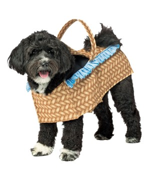 Dog Picnic Basket Costume