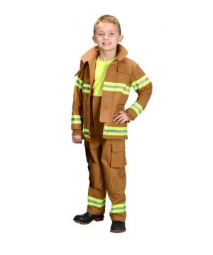Firefighter Boys Costume