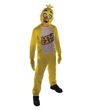 Five Nights At Freddys Chica Boys Costume