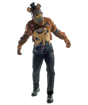 Five Nights At Freddys Scary Freddy Mens Costume