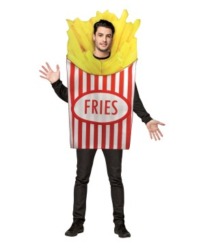 French Fries Mens Costume