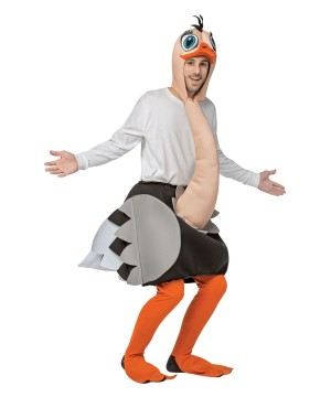 Adult Funny Ostrich Costume