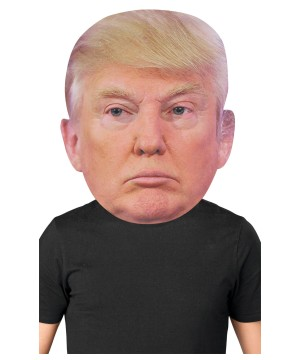 Giant Trump Mask