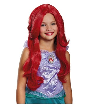 Ariel Girls Costume Wig