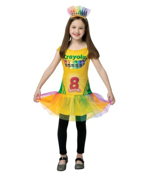 Girls Crayola Box Dress