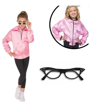 Girls Grease Movie Costume Kit