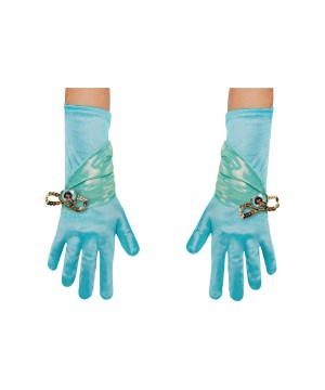 Princess Jasmine Girls Costume Gloves