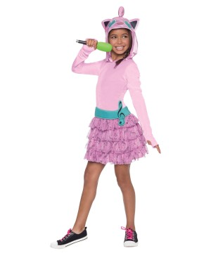Girls Jiggly Puff Hoodie Costume Dress