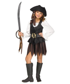 Girls Maiden Pirate Costume