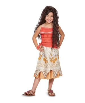Moana Girls Costume