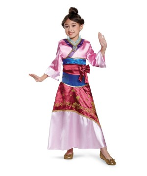 Mulan Girls Costume deluxe