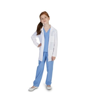 Girls Professional Doctor Costume