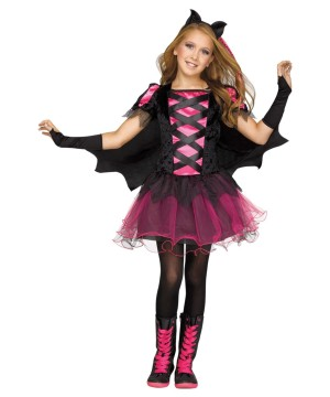 Girls Punk Bat Princess Costume