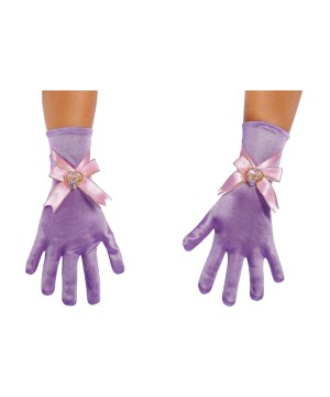 Rapunzel Girls Costume Gloves