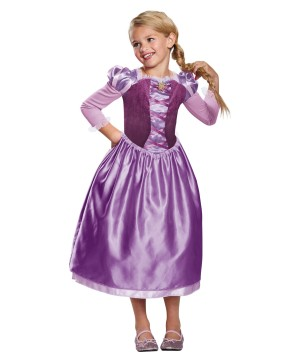 Girls Rapunzel Day Dress Costume