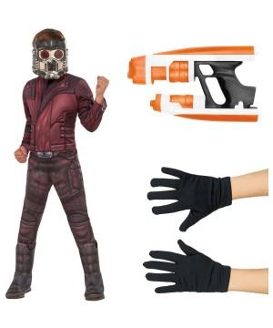 Guardians of the Galaxy Star Lord Boys Costume Kit
