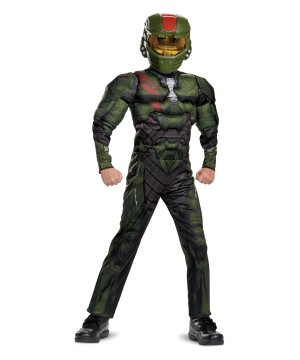Halo Wars 2 Jerome Boys Muscle Costume