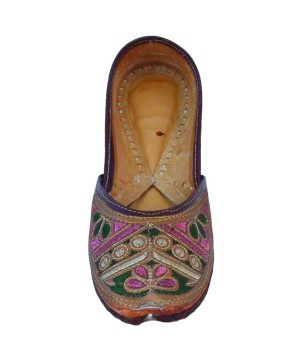 d570f5b056fd Legitimate Jaipurian Indian Hand Crafted Slippers - Shoes