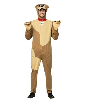 Mens Happy Dog Costume