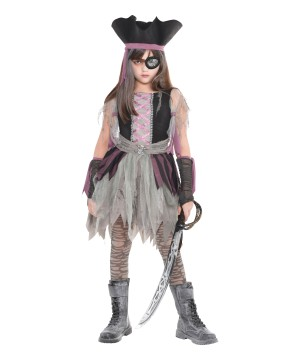 Haunted Pirate Girls Costume