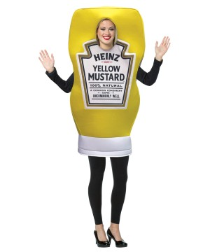 Womens Heinz Mustard Squeeze Bottle Costume